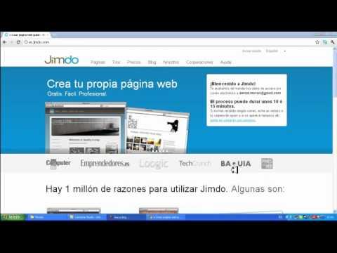 :LOQUENDO: Como crear una pagina web con jimdo
