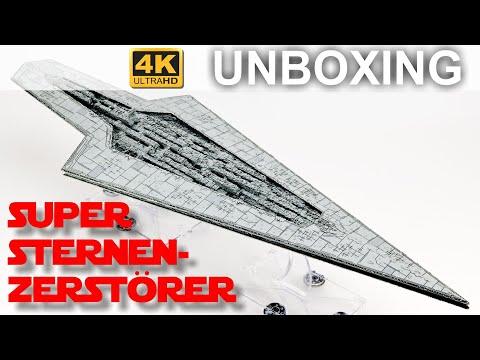 Star Wars Armada: Super Sternenzerstörer - Unboxing - EN (4K)