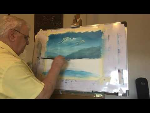 Landscape painting by Joe Riley
