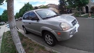2007 Hyundai Tucson GLS startup, engine and in-depth tour