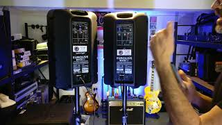 Behringer B112W Powered speakers How to link the speakers with Bluetooth at Northern Beaches PA Hire