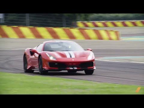 2019 Ferrari 488 Pista First Drive in Italy -- 710 hp -- TEST/DRIVE