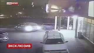 Украли банкомат с 9 млн рублей за минуту, Москва