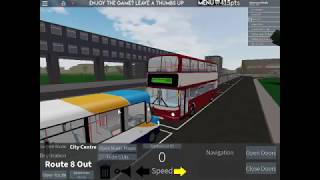 DM Plays: Roblox Bus Network [BETA] - Going in the bus station the wrong way