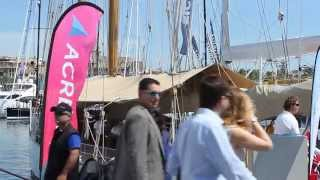 The ACREW Lounge, Palma Superyacht Show 2015