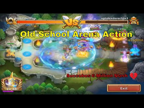 Castle Clash Arena Old School Heroes Maxed Out Fun