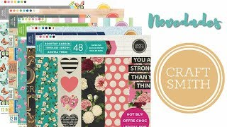 Novedades scrapbooking Craft Smith