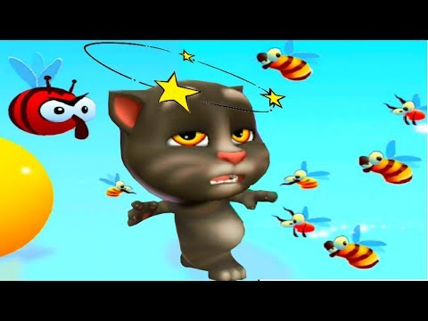 Мой Говорящий Том 2 Челлендж пчелка Друзья Анжела хомяк монстрик НОВАЯ ИГРА  для детей  #Том_2 #Том