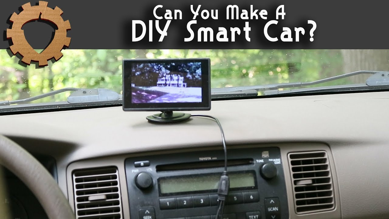 simple car backup camera diy smart car part 1  [ 1280 x 720 Pixel ]