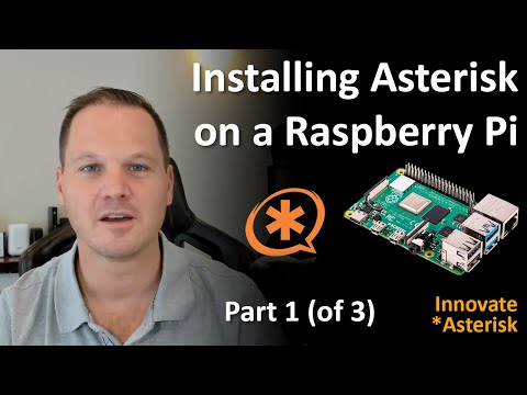Installing Asterisk on a Raspberry Pi (Part 1 of 3)