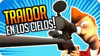 TRAIDOR TROL EN LOS CIELOS! | Exo, Gona, Sara y Luh en Gmod Trouble in Terrorist Town