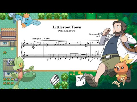 """""""Littleroot Town"""" (from """"Pokémon RSE"""") 