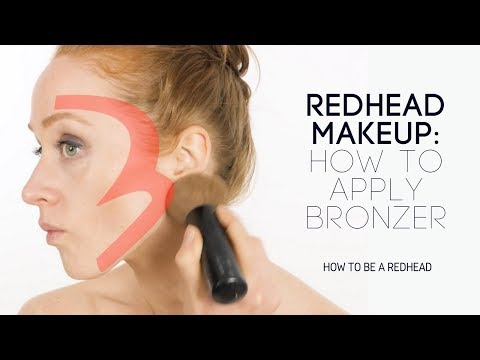 How to Properly Apply Bronzer (Contour + Highlight) | Redhead Makeup