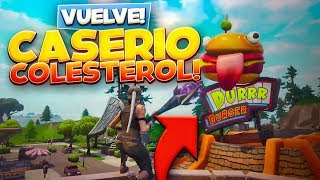 CASERÍO COLESTEROL HA VUELTO A FORTNITE BATTLE ROYALE!!