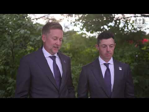 Ian Poulter and Rory McIlroy Pairings Reactions Foursome 2021 Ryder Cup