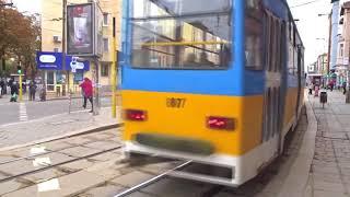 Транспорт в София, България - Local transportation of Sofia, Bulgaria 2017
