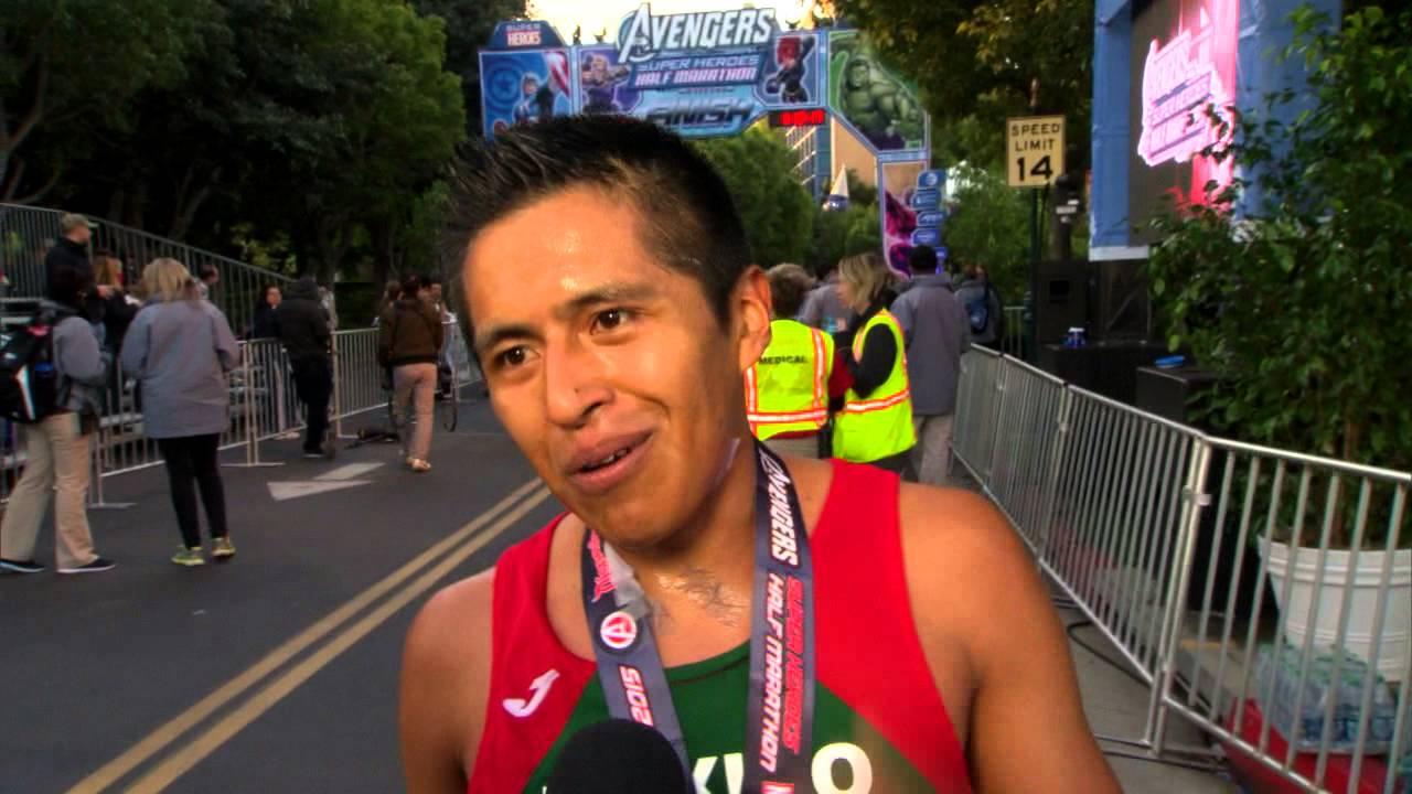Disneyland Avenger Half Marathon 2015