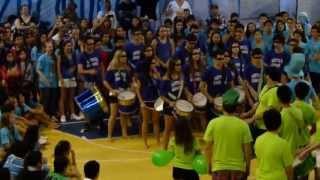 Desafio do tambor Fúria Amarela 1° lugar GINCO 2013