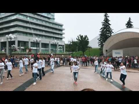 'I Love Canada' Dancing Flash Mob 2017-Pures College
