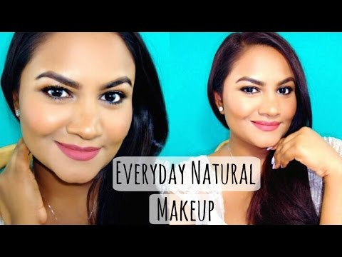 Everyday Natural Makeup Tutorial | Talk Through | Beauty By Ish