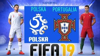 """POLSKA vs PORTUGALIA - FIFA 19 - Hogaty vs Sylo - """"LIGA NARODÓW UEFA 2018"""" #02 [PL/HD]"""