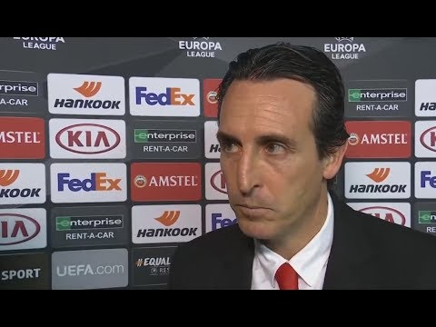 Последнее послематчевое интервью Унаи Эмери на посту тренера Арсенала [НА РУССКОМ]