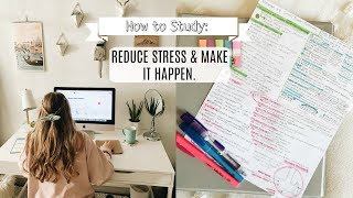 A Pep Talk for School: How to Study & Have a Life