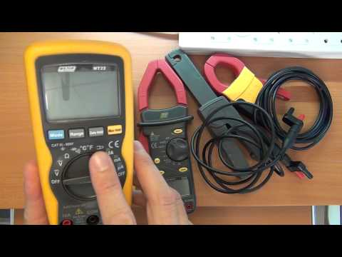 How to use a multimeter for advanced measurements: Part 2 - Current Probes / clamps / transducers
