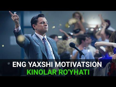 Top 5 ta motivatsion kinolar! O'tqazib yubormang!