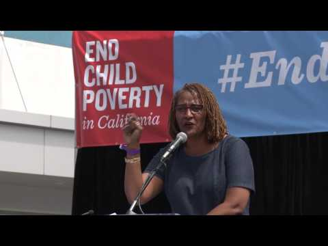 End Child Poverty Rally - Holly Mitchell