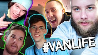 VAN LIFE FOR A DAY (WE CRASHED) ft. SuperMega, Maxmoefoe & Zuckles