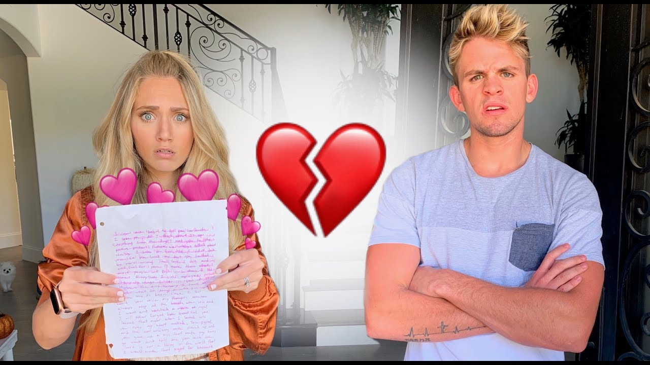 Savannah's Ex Boyfriend Love Letter And Photo Reveal... - YouTube