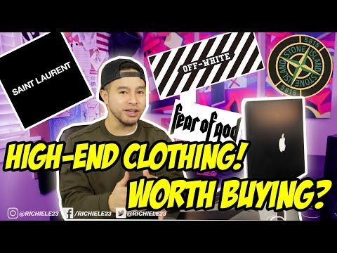 WHERE TO BUY HIGH-END CLOTHING ONLINE! STONE ISLAND & OFF WHITE & MORE!