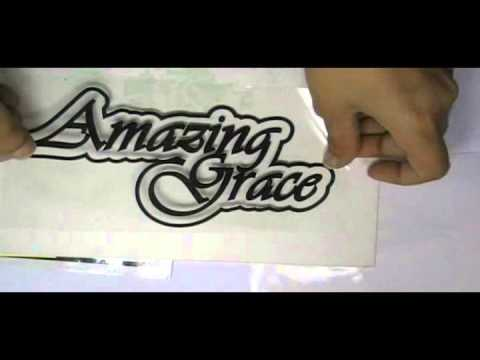 Die cut letter cut stickers printing services fromstickersprinting co uk