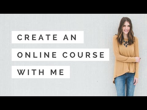 Create an Online Course with Me: Filming Content