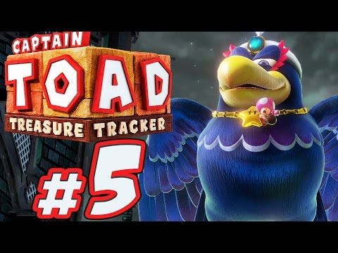 CAPTAIN TOAD: TREASURE TRACKER # 05 ★ Wingo hat 'nen Vogel! [HD / 60fps]