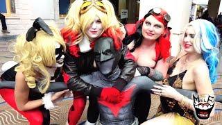 BATMAN vs HARLEY QUINN vs JOKER vs COMIC CON!! Epic Compilation