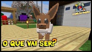 O que o Eevee vai ser? - A Lenda dos Campeões 2 #21 (Minecraft Pixelmon)