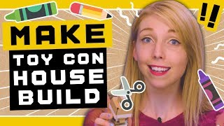 Let's build the Nintendo Labo Toy-Con House