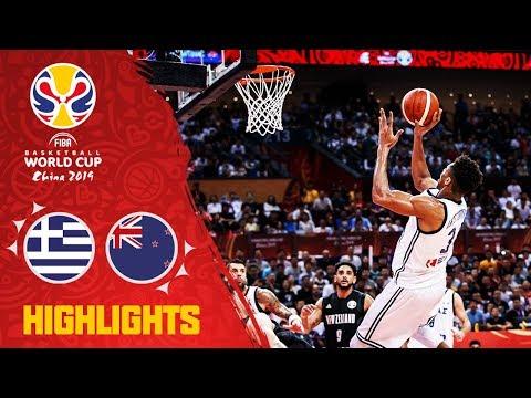 Greece v New Zealand - Highlights - FIBA Basketball World Cup 2019