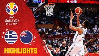 Greece v New Zealand - Highlights - FIBA Basketball World Cup 2019