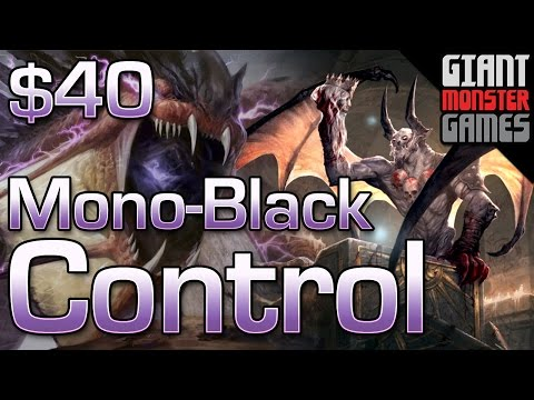 Budget Modern Deck - Mono Black Control ($40)