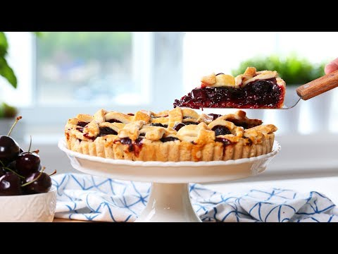 EASY Cherry Tart | Tastes of Summer