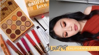 COLOURPOP CALIFORNIA LOVE COLLECTION ⋆ 3 Looks, Review + Comparisons