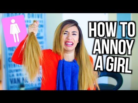 HOW TO ANNOY A GIRL | MyLifeAsEva