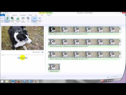 How To Mute Audio In Windows Movie Maker 2012