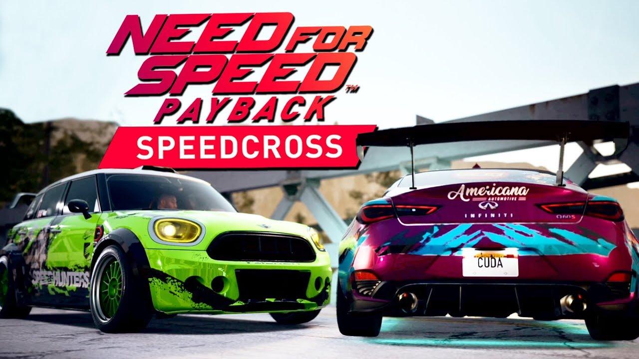 Need for Speed Payback SPEEDCROSS DLC PL #3 – SPEEDCROSS W GÓRACH! – PC