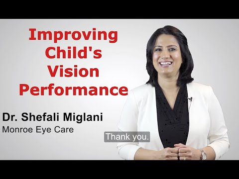 Improving Child's Vision Performance: 3 Tips for Parents