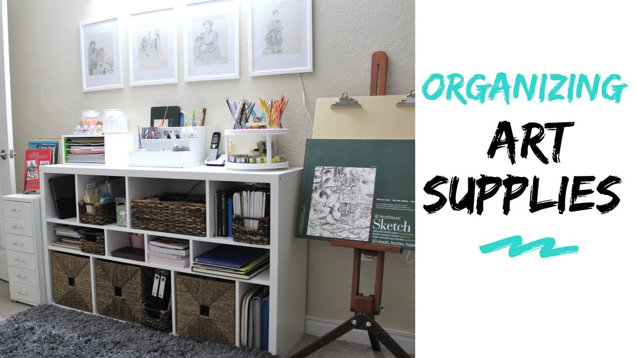 Small Space Organization Art Craft Supplies Organization Storage Ideas In Small Space