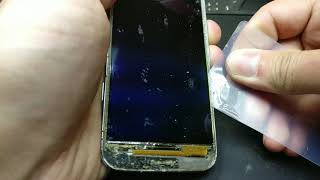 Galaxy S4 mini (GT-I9190).Отделение дисплея от стекла.Glass replacement (remove) prepare